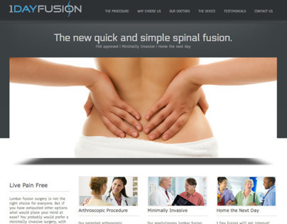 1 Day Fusion Website