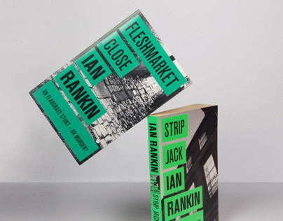Ian Rankin book cover design