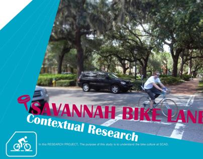 Contextual Research of Savannah bike lanes