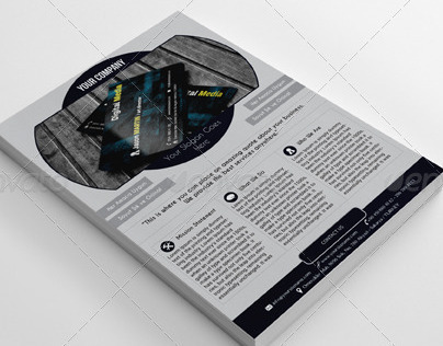 Creative Corporate A4 Flyer