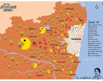 Dinamalar chennai supplement infographics work