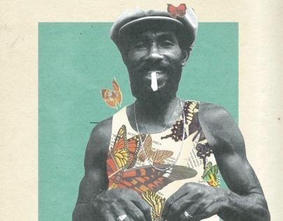 Natural Selection with Lee Scratch Perry - Event Poster
