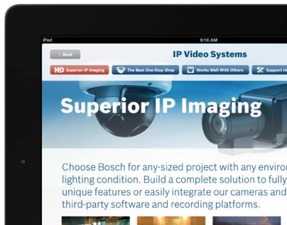 UI for Tablet App