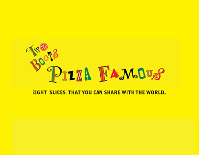 Two Boots Pizza Famous Tablet Ad Campaign
