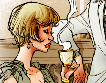 The Great Gatsby (Personal Illustrations)