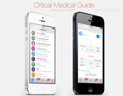 UI/UX Critical Medical Icons