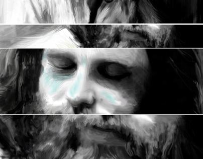 ''The Lizard King'' Jim Morrison