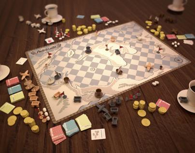 Arabibusta (Boardgame Concept Design, 2009)