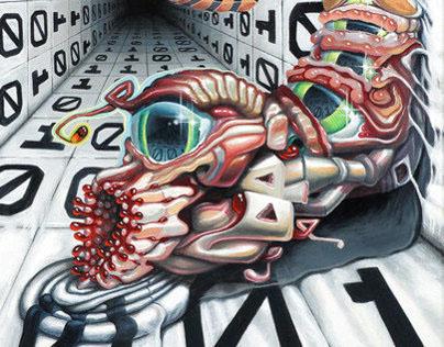 """Theta Vyrus"", Oil on Canvas, 24"" x 18"", 2013"