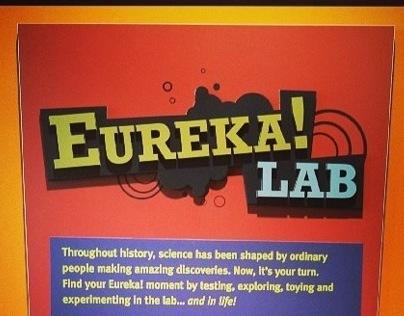 Eureka Lab exhibit design