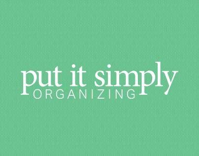 Put It Simply Organizing Logo