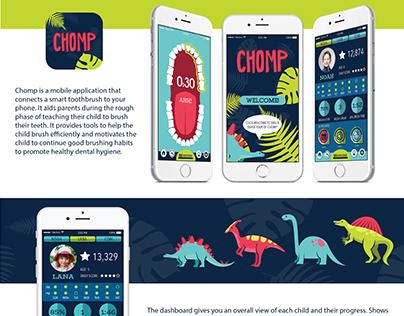 Chomp - Smart Toothbrush App