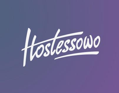 Hostessowo Logo Design