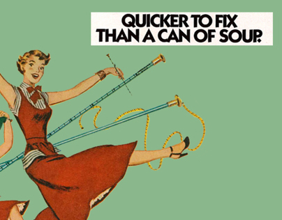 Quicker to Fix than a can of Soup