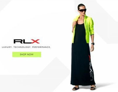 Ralph Lauren RLX (Web/Product Design)