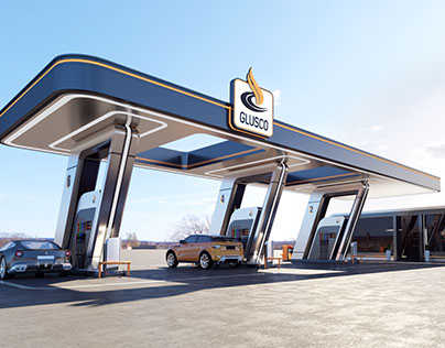 GLUSCO - concept of a gas station