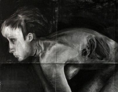 Foundations Drawing - Self Portrait