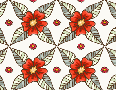 """Set of patterns """"Guild of flowers and leaves!"""""""