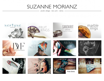 Suzanne Morianz jewelry