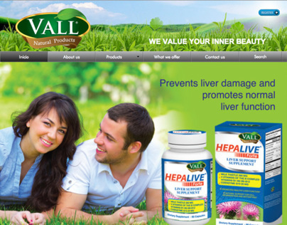 Web Site Vall Natural