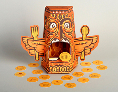 Good Fortune Tiki Turkey - Thanksgiving Promotion