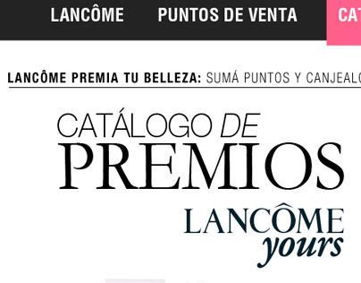 Lancome Yours - Catalogo