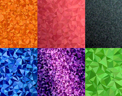 50 Colorful Triangle Backgrounds