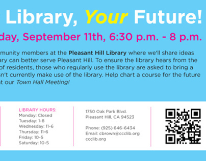 Flyers & Posters | Contra Costa County Libraries