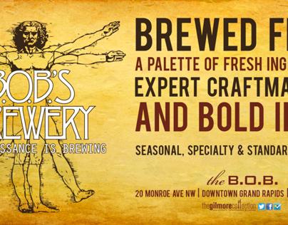 B.O.B.'s Brewery Banner