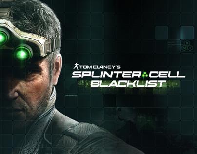 Splinter Cell: Blacklist | Graphic Design