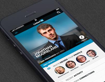 Linkedin Iphone