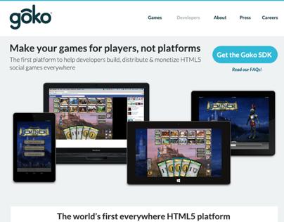 Goko Website