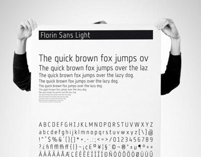 Florin Sans - Typeface