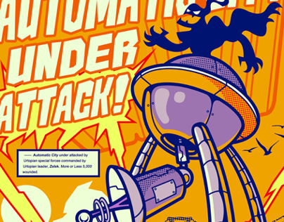 NICK AUTOMATIC - UNDER ATTACK