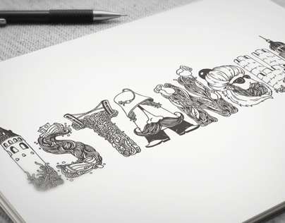 İSTANBUL / Tipografi