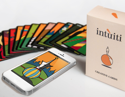 Smartphone App for Intùiti Creative Cards