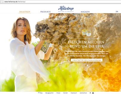 Website Heliotrop Nature & Beauty www.heliotrop.de