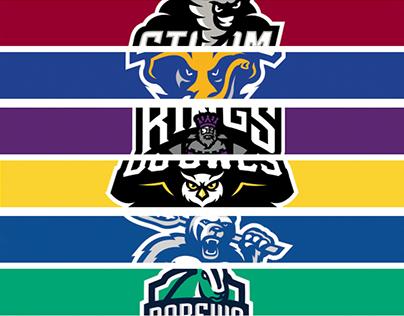 Unused Sports Team Logos PT1
