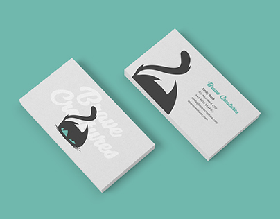 Brave Creatures Business Cards and Logo