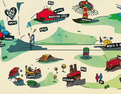 Kamehameha Festival - Stageplan