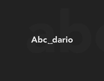 - Abecedario