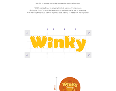 Winky Almonds - Packaging & Print Ads