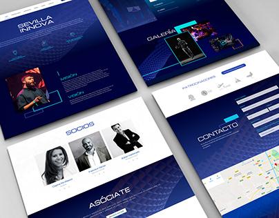 Diseño web. Sevilla Innova.