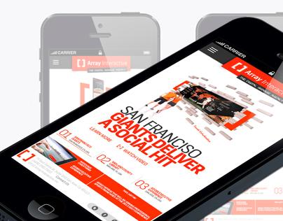 Array Interactive Mobile