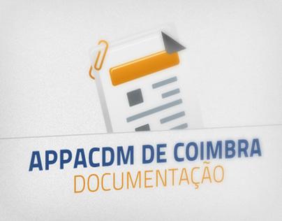 APPACDM Coimbra / Documentação