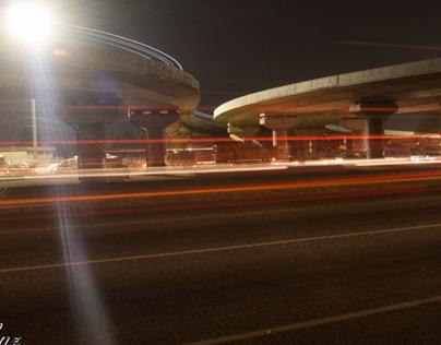 Light Streaks - Mallam Interchange, Accra
