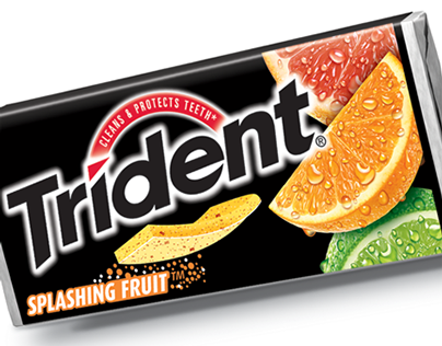 Trident Splashing  | New Product Packaging Design