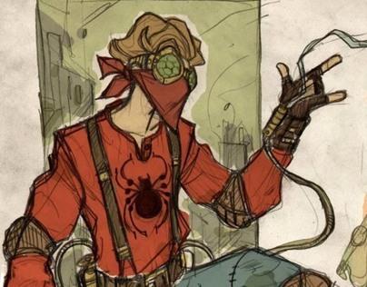 Spider-Man Steampunk Universe