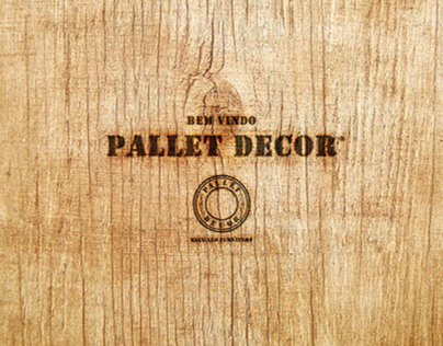 Pallet Decor - Logo e Comunicação