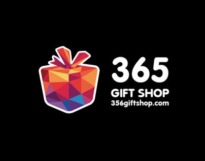 365 gift shop logo design